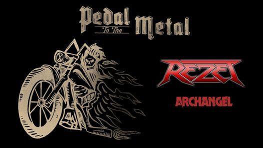Pedal To The Metal: REZET (DE) + ARCHANGEL (DK)