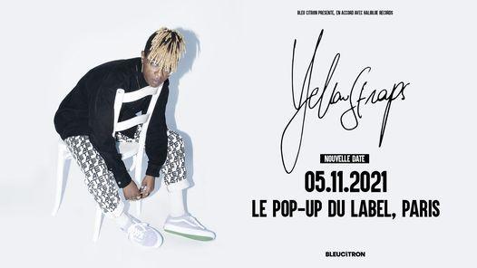 YellowStraps | Le Pop-Up Du Label, Paris