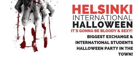 HELSINKI INTERNATIONAL & EXCHANGE STUDENTS HALLOWEEN Party
