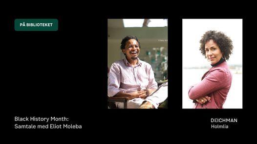Black History Month: Samtale med Eliot Moleba