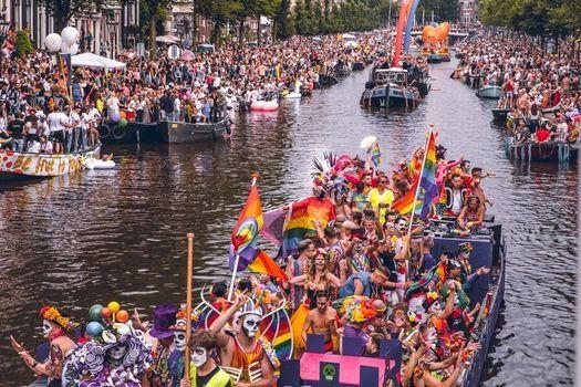 Canal Parade Amsterdam 2021