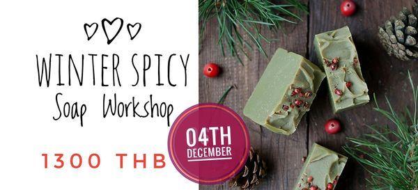 Winter Soap making workshop