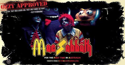 Mac Sabbath - Live in Perth
