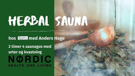 Herbal SaunaGus med Anders Hage