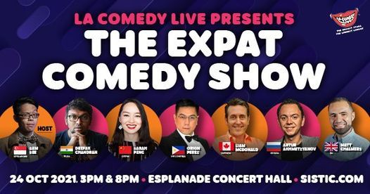 The Expat Comedy Show [NEW DATE]