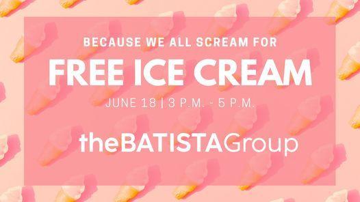 the BATISTA Group Ice Cream Social
