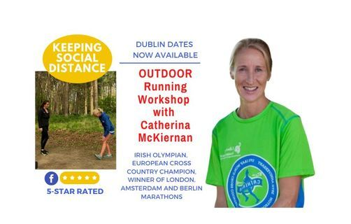 Run Longer, Faster & Injury-Free: Workshop with Olympian Catherina McKiernan, Dublin
