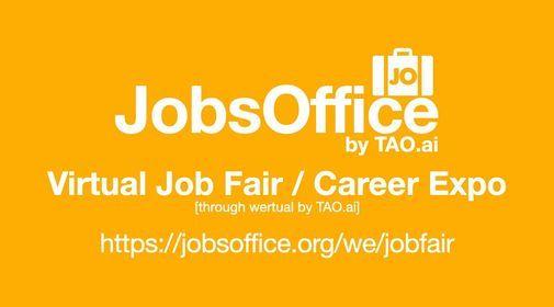 JobsOffice Virtual Job Fair \/ Career Expo Event