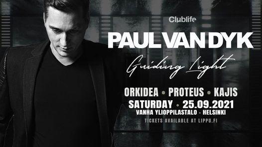 Paul Van Dyk - Guiding Light Album Tour