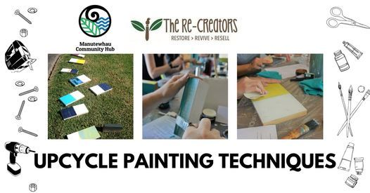 Upcycle Painting Techniques