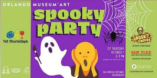 Orlando Museum of Art 1st Thursdays w\/ Spooky Empire