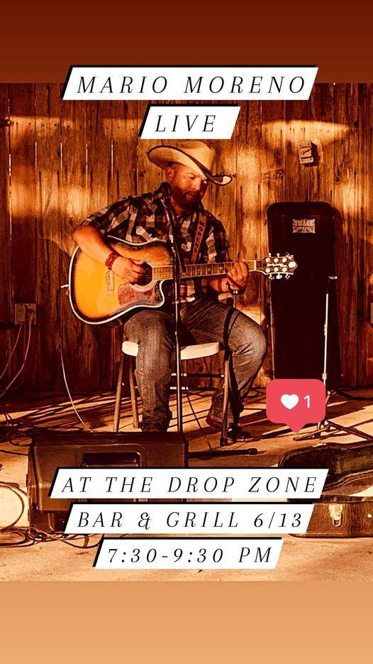 Mario Moreno Live At The Drop Zone Bar & Grill