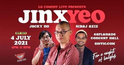 LA Comedy Live presents Jinx Yeo!