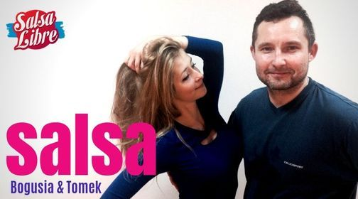 Salsa od podstaw crash course Bogusia & Tomek 16-17.10