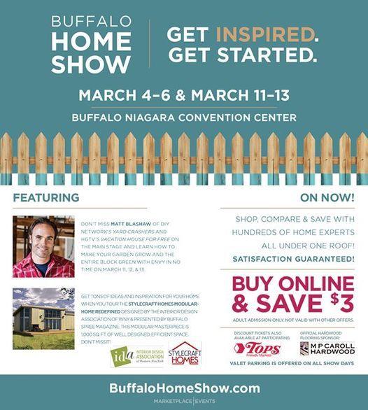 Buffalo Home Garden Show 2021 Buffalo Niagara Convention Center 4 March 2021