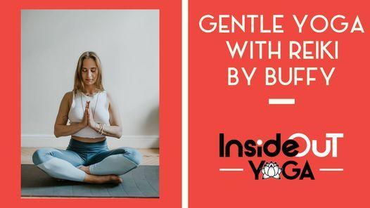 Gentle Yoga with Reiki by Buffy