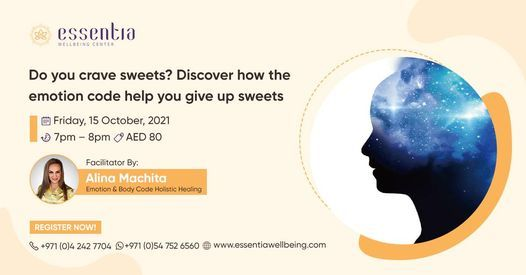 Do you crave sweets? Discover how the emotion code help you  give up sweets
