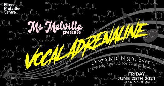 Vocal Adrenaline: An Open Mic Night Event