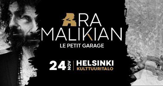 Ara Malikian in Helsinki