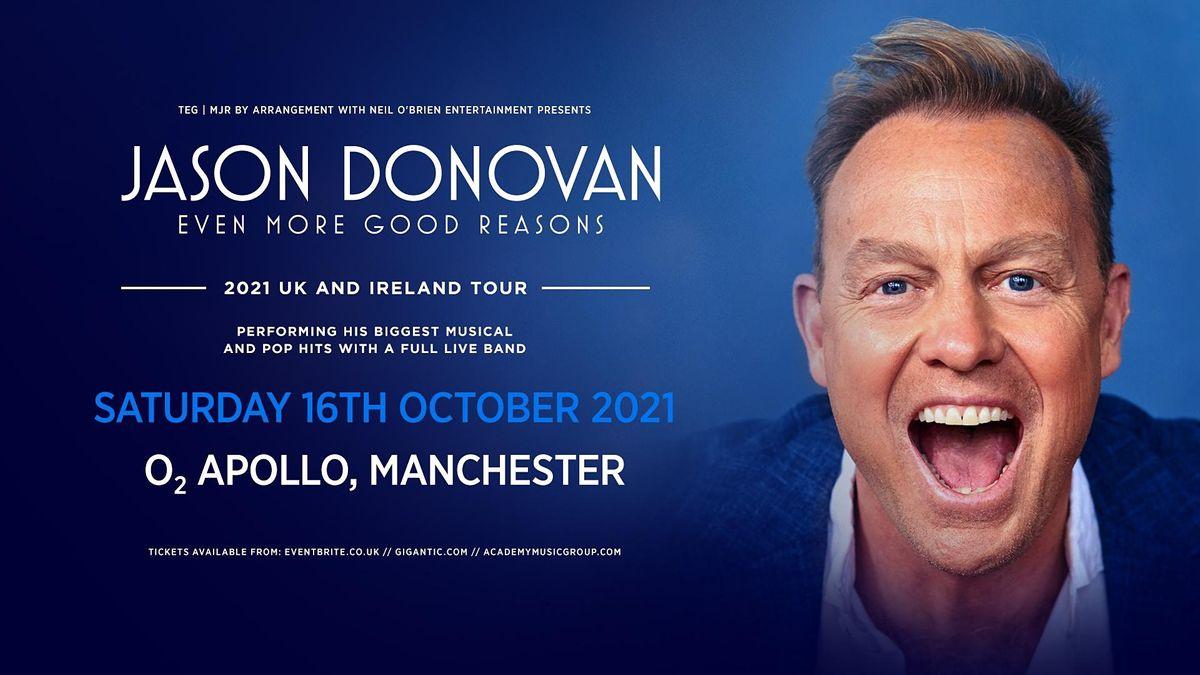 Jason Donovan 'Even More Good Reasons' Tour (Apollo, Manchester)