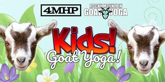 Baby Goat Yoga for Kids - August 1st  (FOUR MILE HISTORIC PARK)