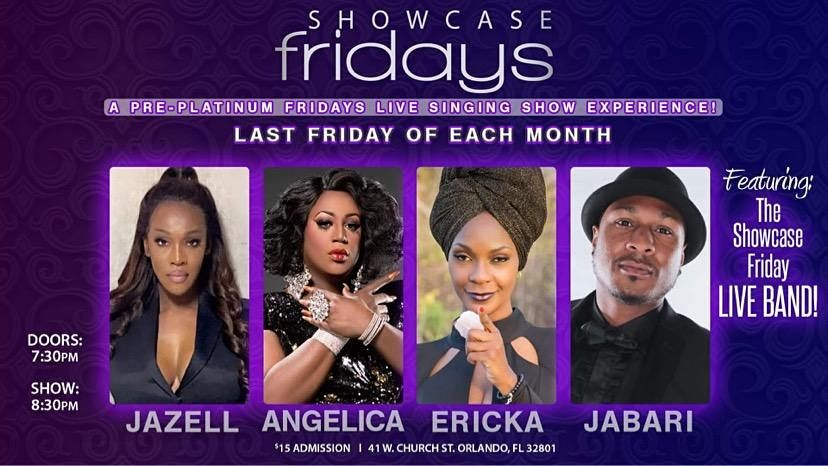 Showcase Fridays at Irish Shannon\u2019s by Platinum Fridays