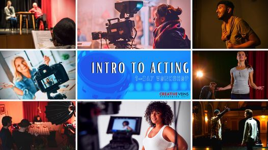 Intro to Acting   1-Day Saturday Workshop