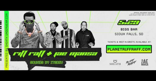 Tomorrow! Riff Raff + DJ Whoo Kid LIVE in Sioux Falls