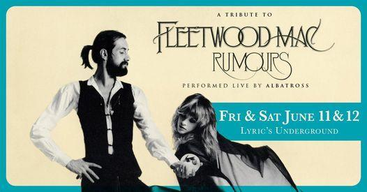 "Fleetwood Mac's ""Rumours"" performed by Albatross"