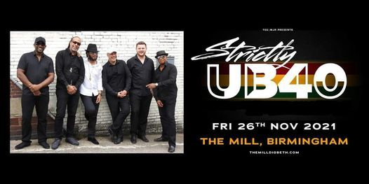 Reschedule: Strictly UB40