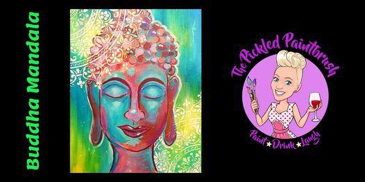 Painting Class - Buddha Mandala - July 22, 2021