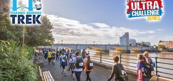 Ultra Challenge - Thames Bridges Trek