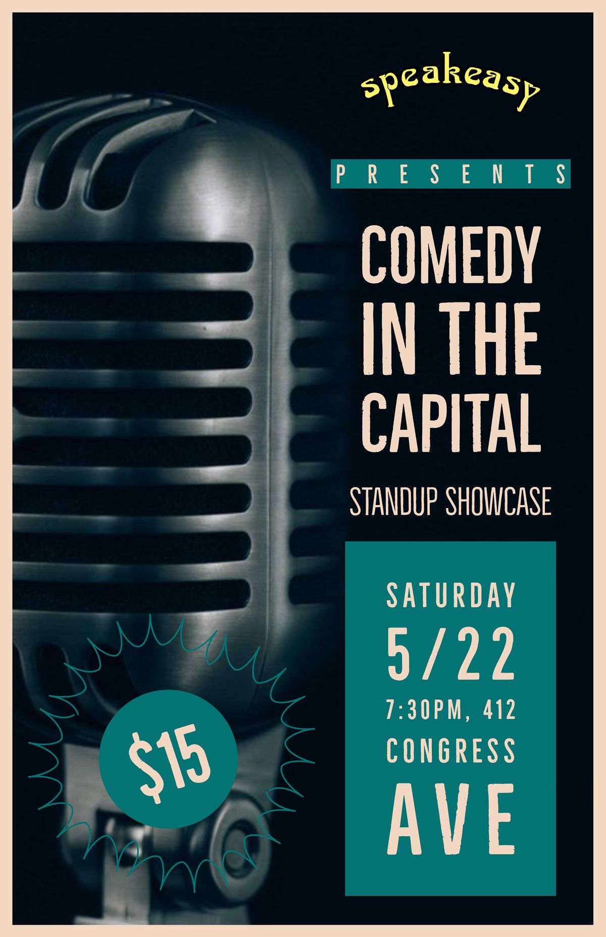Comedy in the Capital Live at Speakeasy
