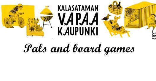 REDI 3V! Pals and board games at Olohuone