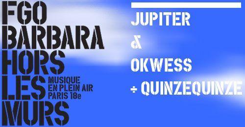 Hors les murs | Jupiter & Okwess + QuinzeQuinze