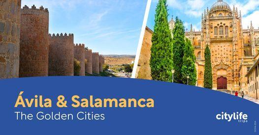 \u00c1vila & Salamanca: The Golden Cities
