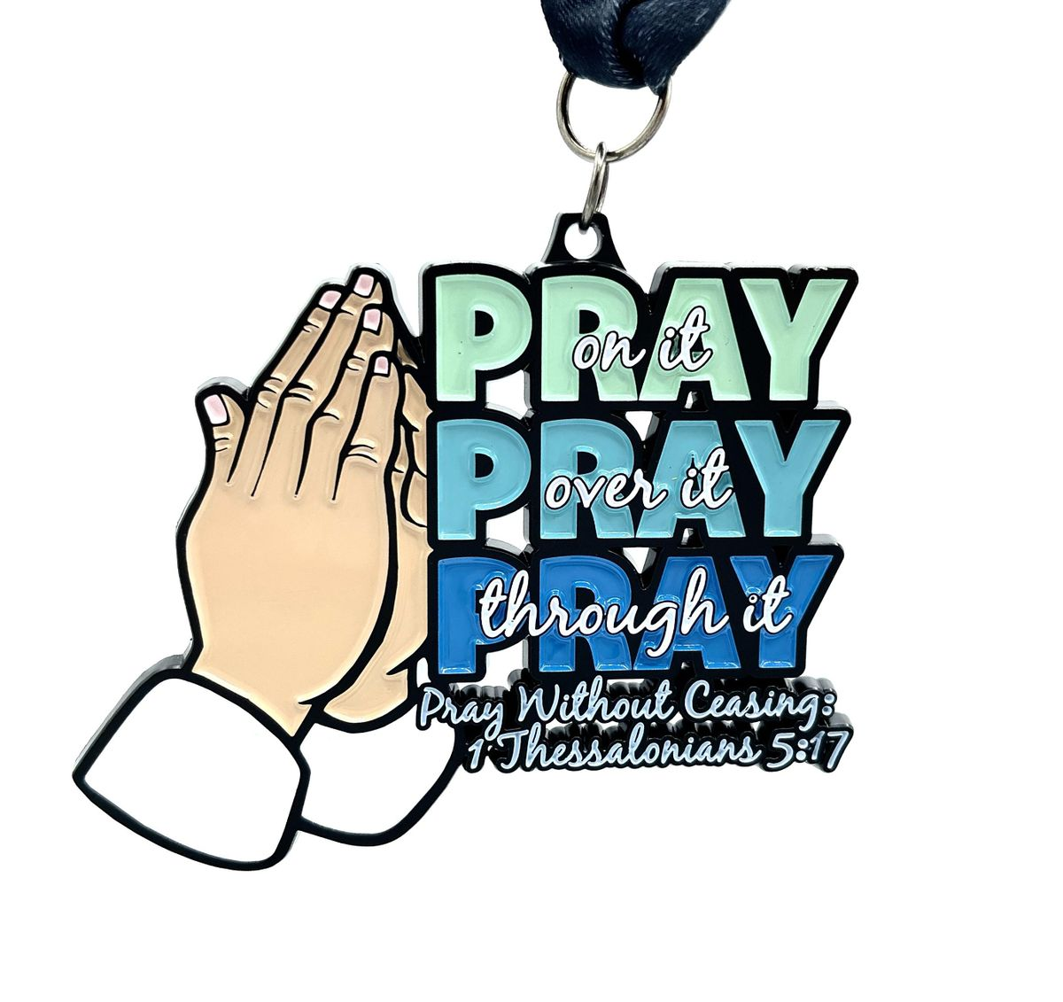 2021 Pray Without Ceasing 1M 5K 10K 13.1 26.2-Participate from Home.Save $5
