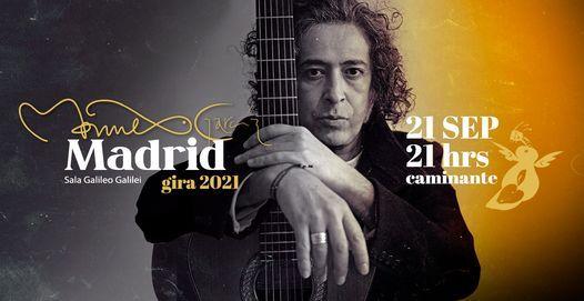 Manuel Garc\u00eda en Madrid: Caminante