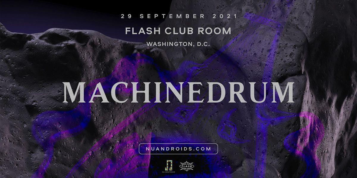 N\u00fc Androids Presents: Machinedrum DJ Set (21+)