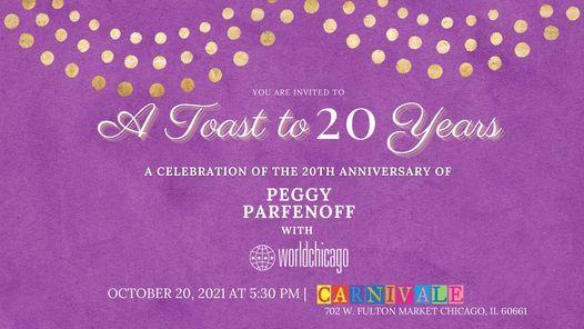 A Toast to Twenty Years with WorldChicago