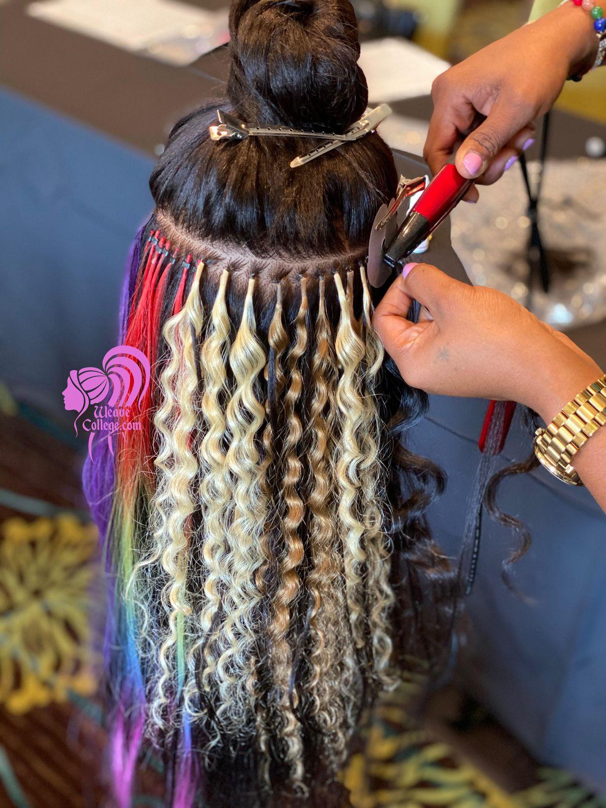 Miami, Fl   Hair Extension Class & Micro Link Class