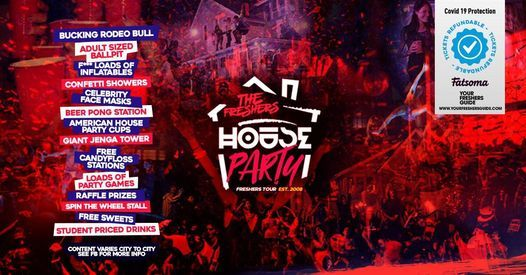 The Freshers House Party   Birmingham Freshers 2021