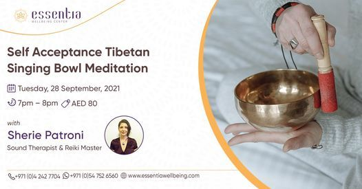 Self Acceptance Tibetan Singing Bowl Meditation with Sherie Patroni