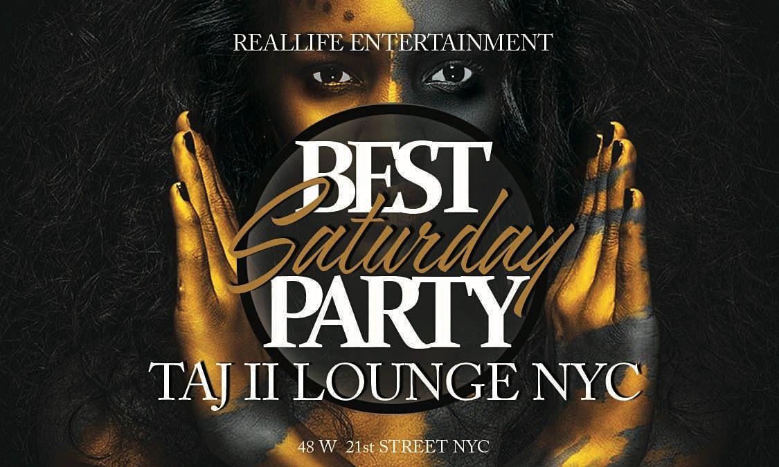 TAJ SATURDAYS @ TAJ LOUNGE NYC #taj #lounge