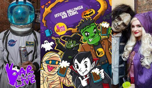 Official Halloween Bar Crawl   Charlotte, NC - Bar Crawl LIVE! (2 Dates)