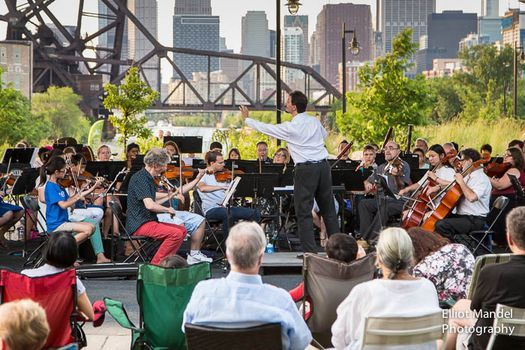 Side by Side with the Chicago Philharmonic at Ping Tom Park