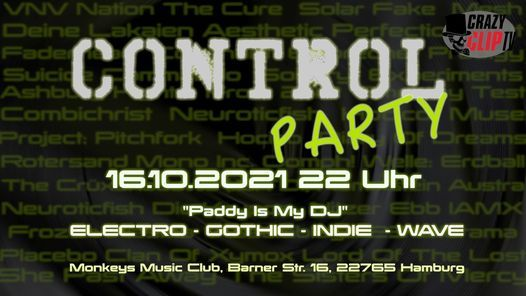Control Party - Electro\/Gothic\/Indie\/Wave