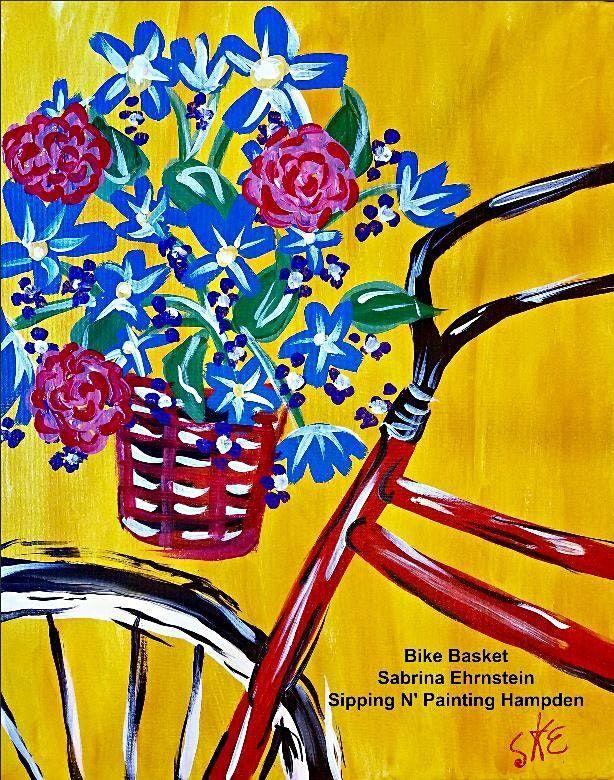 IN STUDIO CLASS Bike Basket Sun Aug 15th 1:30pm $30
