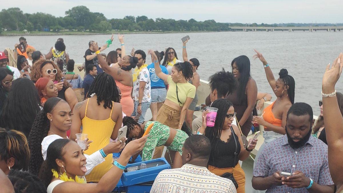 The Hip Hop R&B Boat Party 8.1.21
