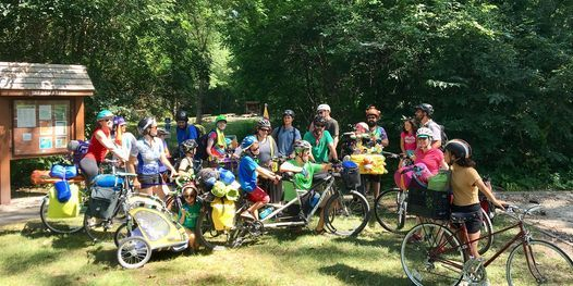 Bike Camping in the City: Family Campout 2021